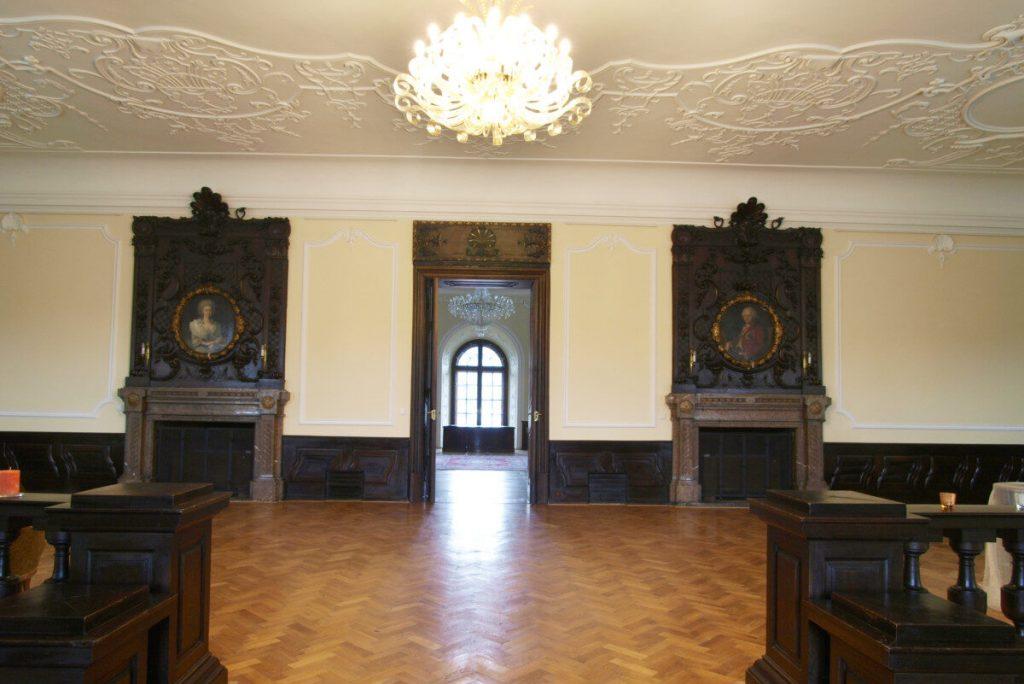 Historie zámku Napajedla